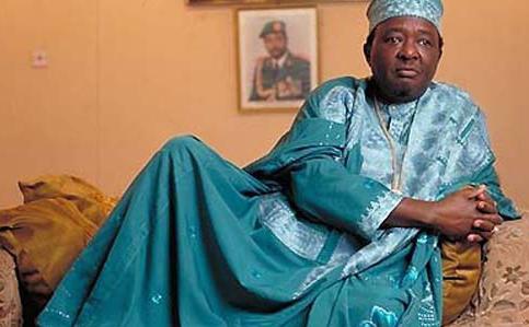 Ooni of Ife.  Oba Okunade Sijuwade